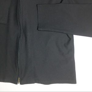 Eileen Fisher Jackets & Coats - Eileen Fisher Stretch Crepe Black Jacket